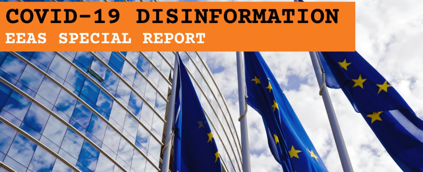 Zvláštní zpráva Evropské služby pro vnější činnost (ESVČ): dezinformace o koronaviru – krátké zhodnocení informačního prostředí