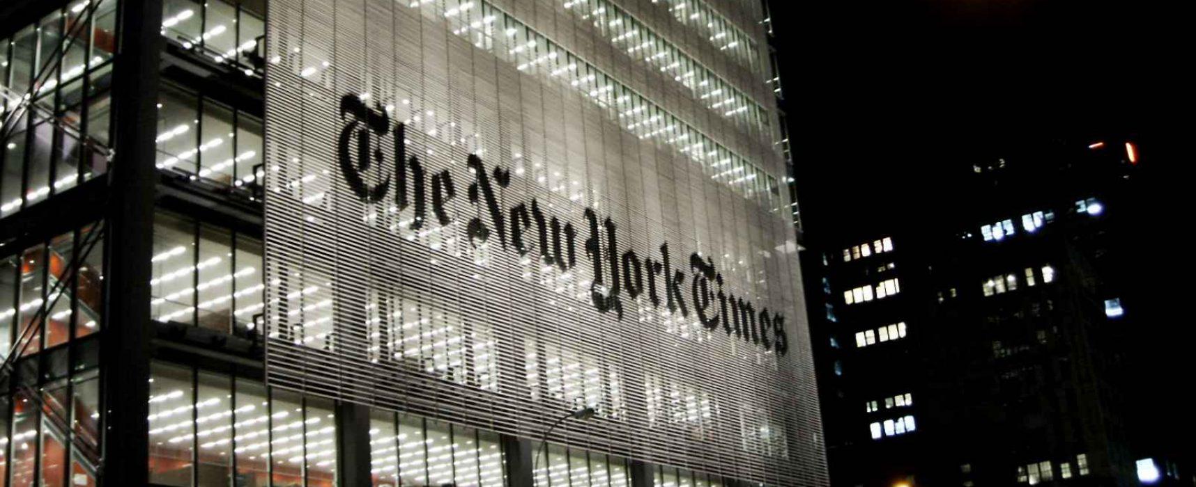 Фейк посольства РФ в США: NYT подтасовала факты и удалила абзац статьи со статистикой смертности в Лондоне и Нью-Йорке