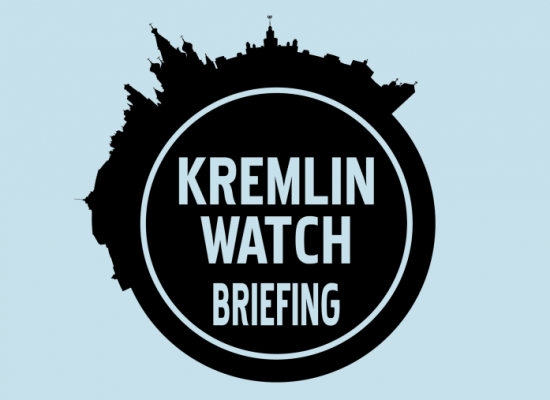 Kremlin Watch Briefing: The unexpected journey of Russian ventilators from Russia to the US and back again.