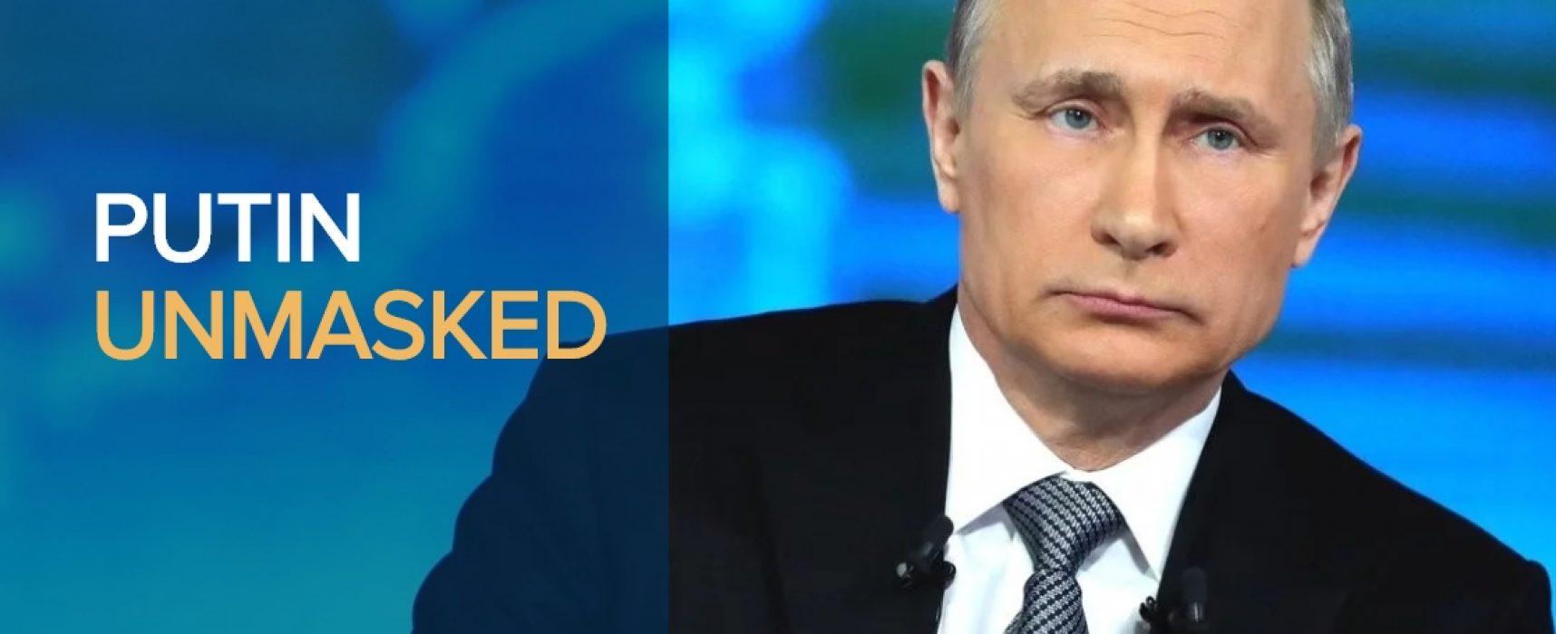 Brian Whitmore: Putin unmasked