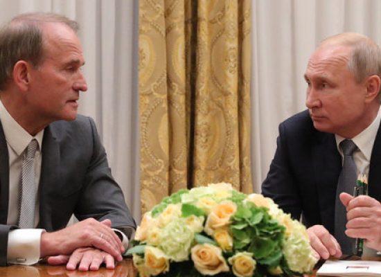 В США предлагают ввести санкции против Медведчука как пособника Кремля