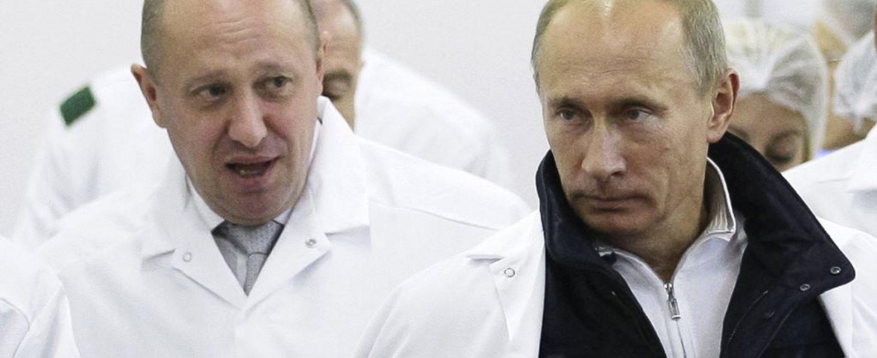 """Za trolly a žoldáky. Nové sankce proti """"Putinově kuchaři"""""""