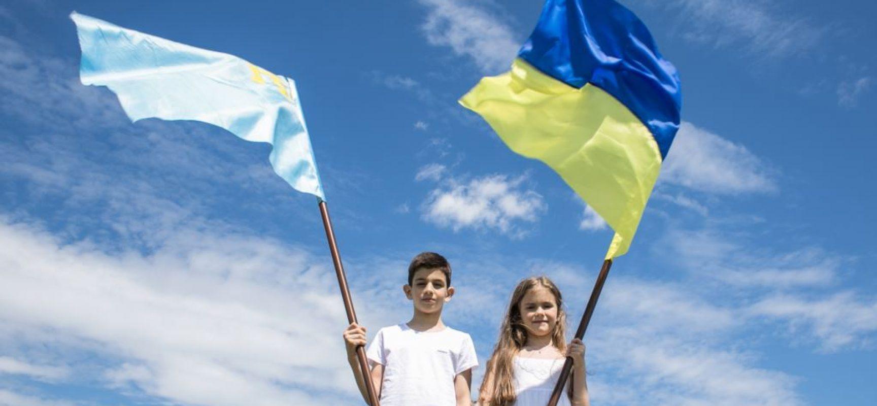 В соцсетях проходит международная кампания «Крым – это Украина»