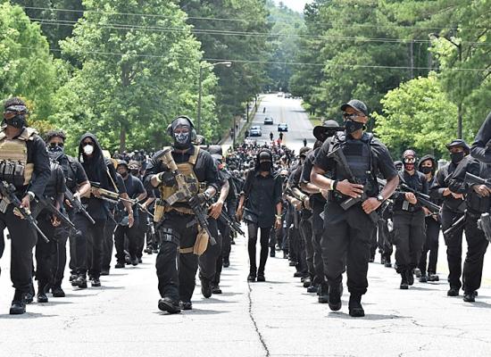 Фейк російських ЗМІ: США на межі громадянської війни, чорношкірі протестувальники вбивають дітей