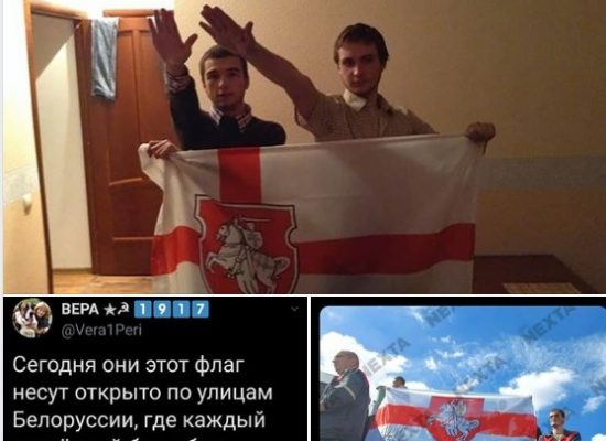 Fake: White and Red Belarusian Flag is a Nazi Flag