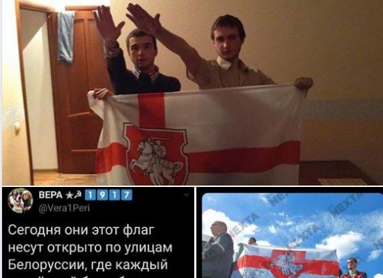 Fake: Die weiß-rote belarusische Flagge ist eine Naziflagge