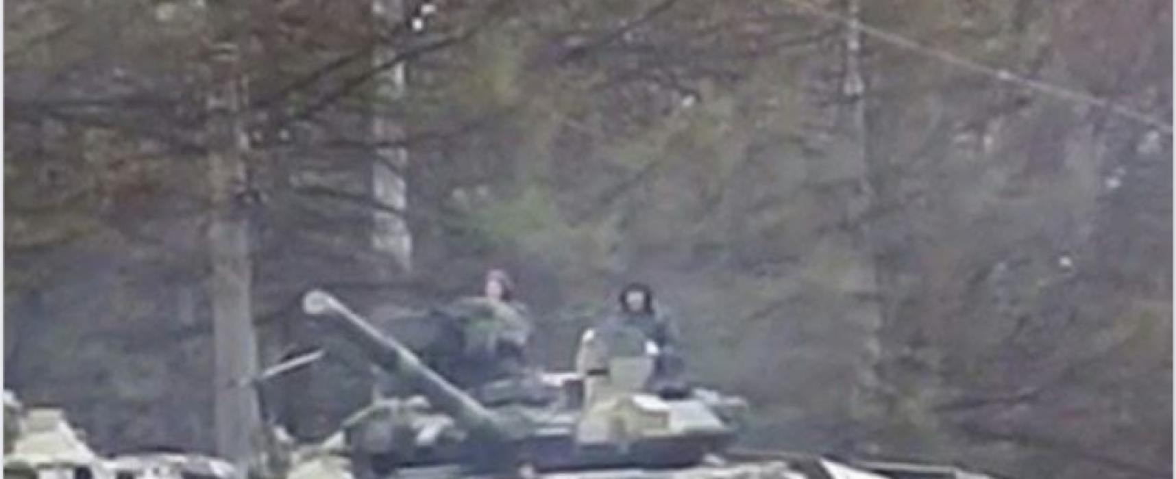 Fake: Russian Tanks in Smolensk Heading Towards Belarus Border