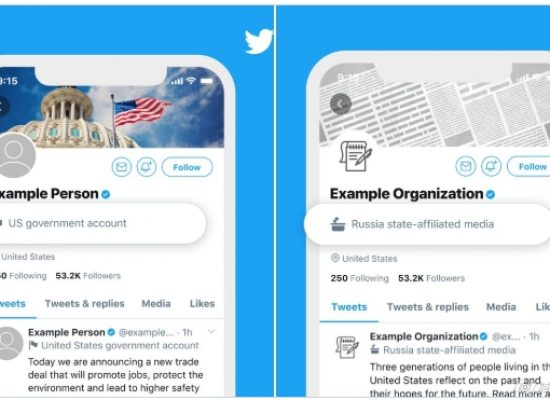 Twitter will now label state-controlled media accounts
