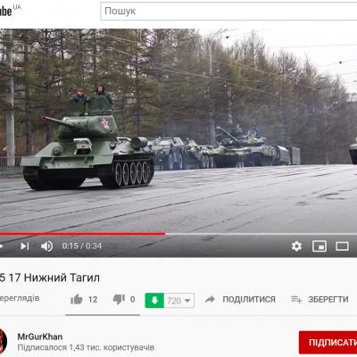 Fake: Ruské tanky míří přes Smolensk k hranici s Běloruskem
