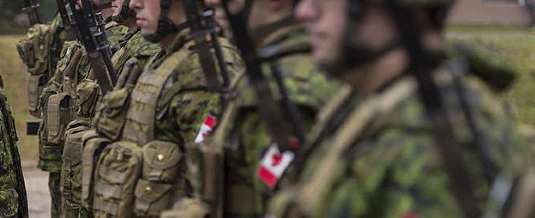 Россия распространяет COVID-фейки о канадских военных в Латвии