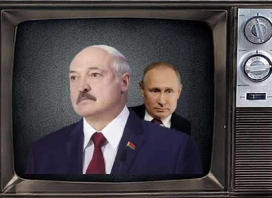 Protesty v Bělorusku očima Kremlu