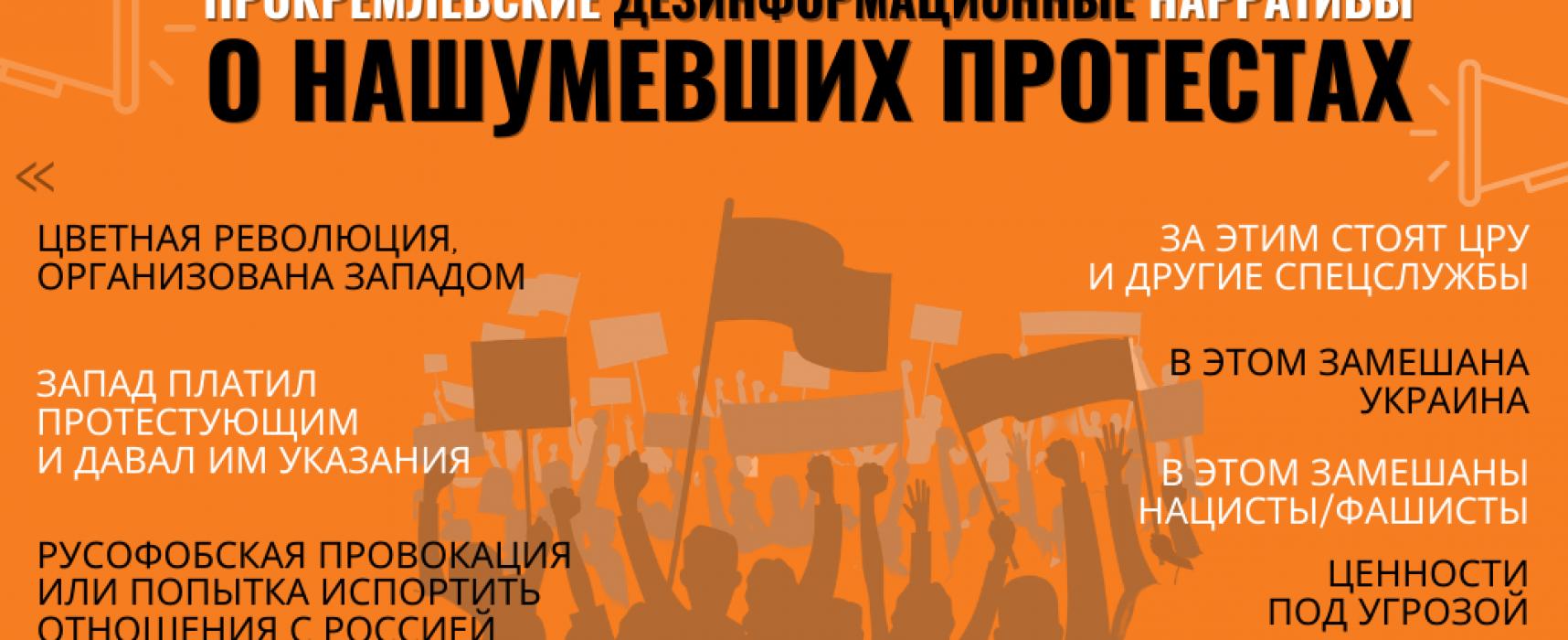 Повсюду «цветные революции»: Прокремлевские СМИ освещают народные протесты
