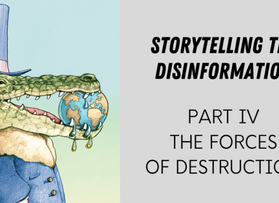 Storytelling the Disinformation. Part 4