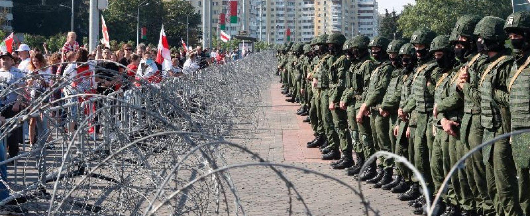 """""""Nikdo nechce, aby se z Běloruska stala nová Ukrajina"""": evropští lídři varovali před ruskou intervencí a ruská média z toho udělala protiukrajinské výroky"""
