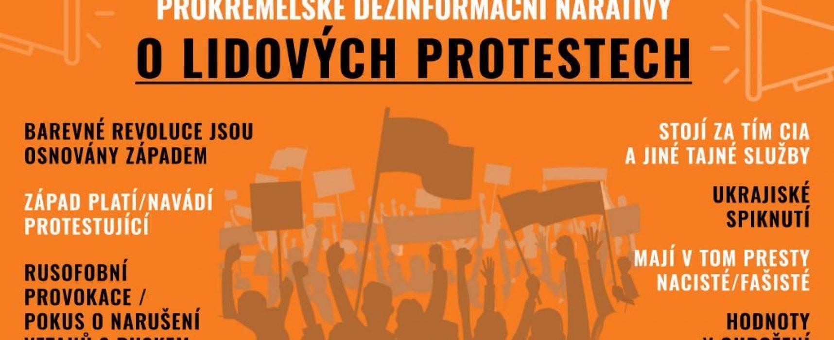 Barevné revoluce kam se podíváš – prokremelská média informují o protestech