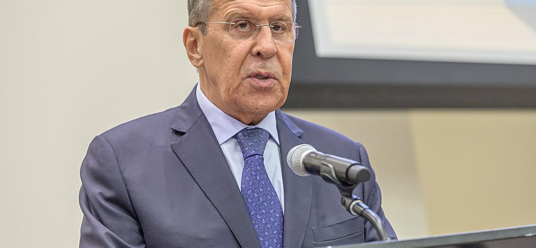 Fake: According to Sergey Lavrov Russia is not a side in the armed conflict in Ukraine