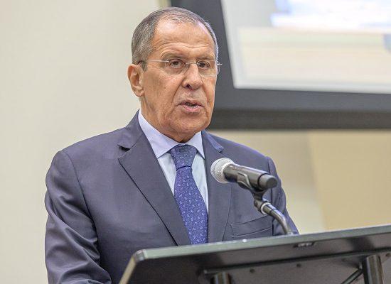 Фейк: По мнению Сергея Лаврова, Россия не является стороной вооруженного конфликта на Украине