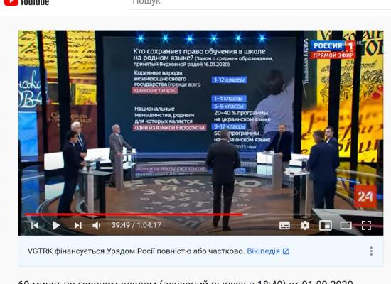 «Тотальна українізація»: російські ЗМІ про те, як школи в Україні переходять на українську мову навчання
