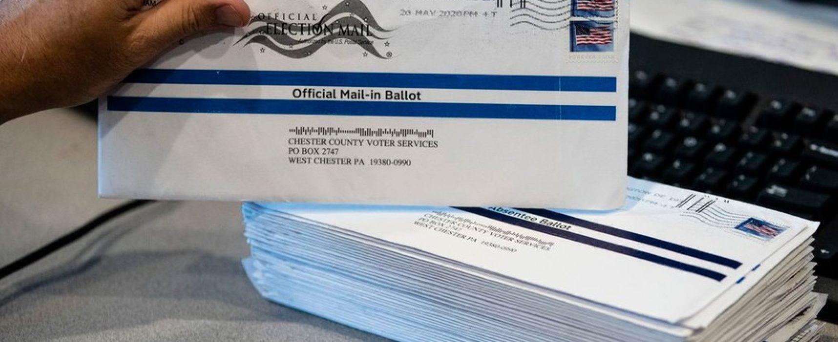 Фейк «Вестей недели»: у Трампа воруют голоса, отправленные почтой