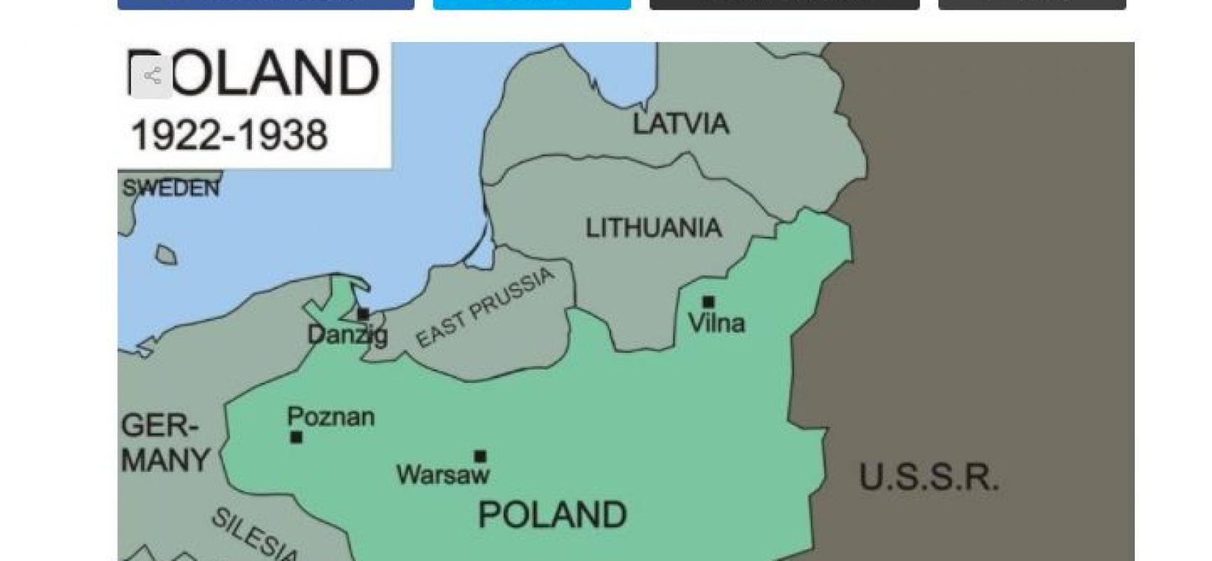 Fake: Polska wykorzystuje szansę na przyłączenie Litwy