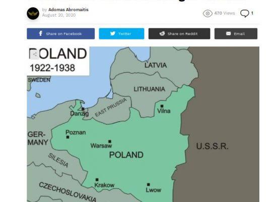 Фейк: Польща використовує шанс приєднати Литву