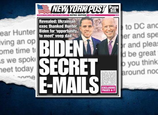 «Ложь, давление и шантаж». Что программа «Время» сказала и что скрыла о скандале вокруг почты сына Байдена