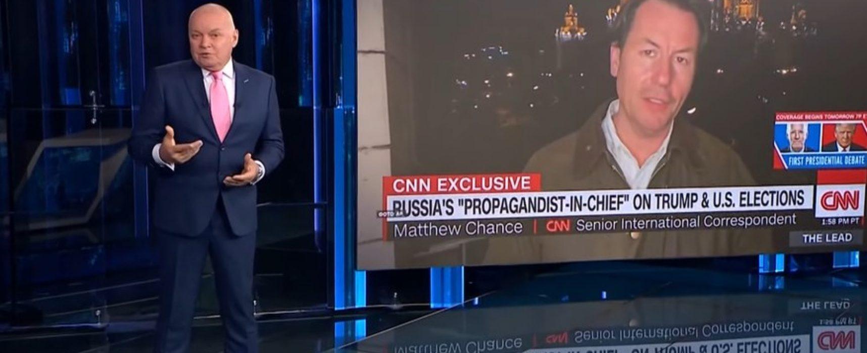 Фейк Дмитрия Киселева: корреспондент CNN исказил смысл его слов о «радиоактивном пепле»