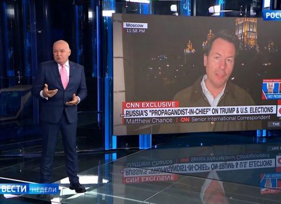 Фейк Дмитра Кисельова: кореспондент CNN спотворив зміст його слів щодо «радіоактивного попелу»